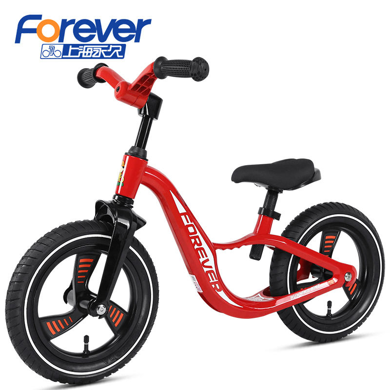 OEM China Cool Super Lightweight Wholesale In Stock Magnesium Alloy Kids Balance Bike Baby Walker No Pedal