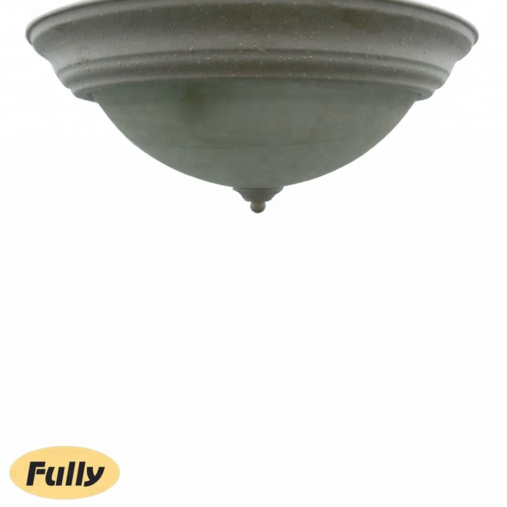 Fully Compact Wholesale Hotel Glass Flush Mounted Customize Ceiling Lamp for Bedroom