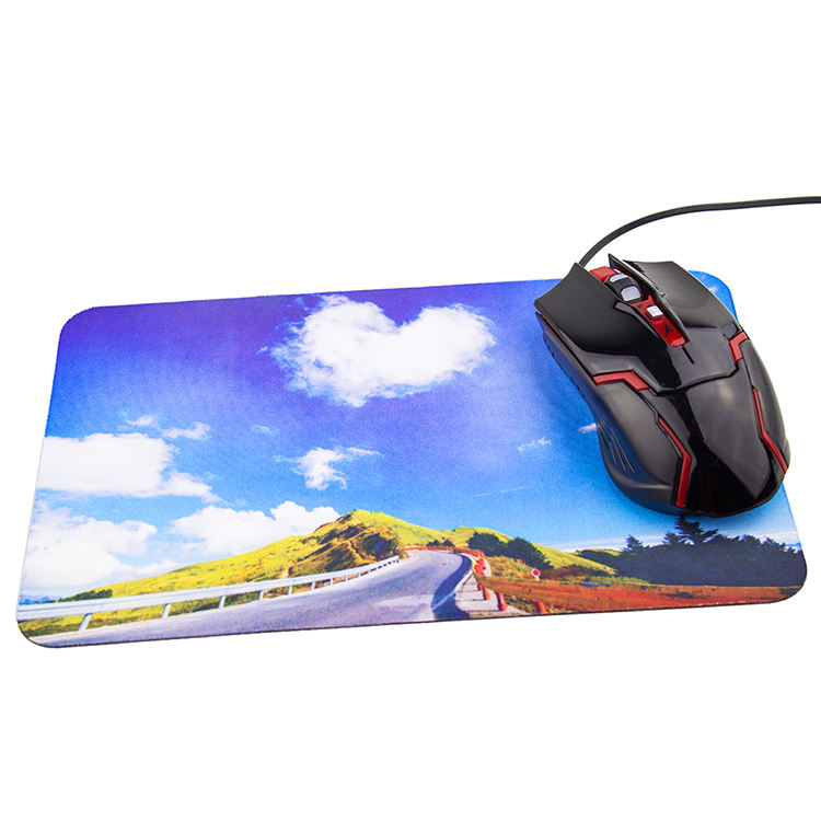 Promotional Logo Printed Natural Rubber Gaming Mouse Pad