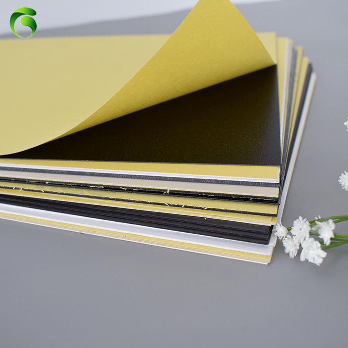 Hot new products album cover adhesive pvc material