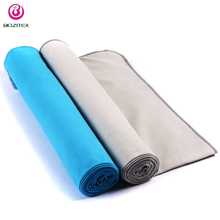 Custom Soft Micro Fiber Beach Sports Travel Towel Set Fabric Roll Microfiber Towel Microfiber Bath Towel