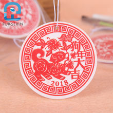 OEM high quality customized logos car colorful scents initial bulk room air fresheners at home