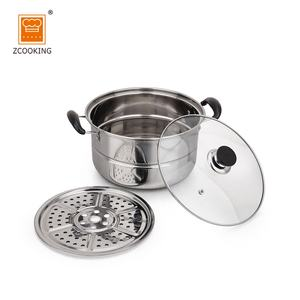 Ramen Noodle Cooking Pot And Pan Cooking Set With Glass Lid