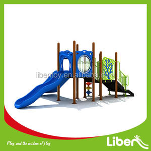 Top quality outdoor play gym commercial kids slide outdoor playground for children