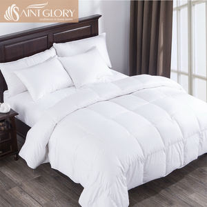 Luxury White Goose Feather & Down Duvet Quilt - 13.5 Tog Double Size
