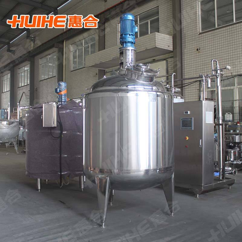 1000l Stainless Steel Milk Mixing Tank With Agitator