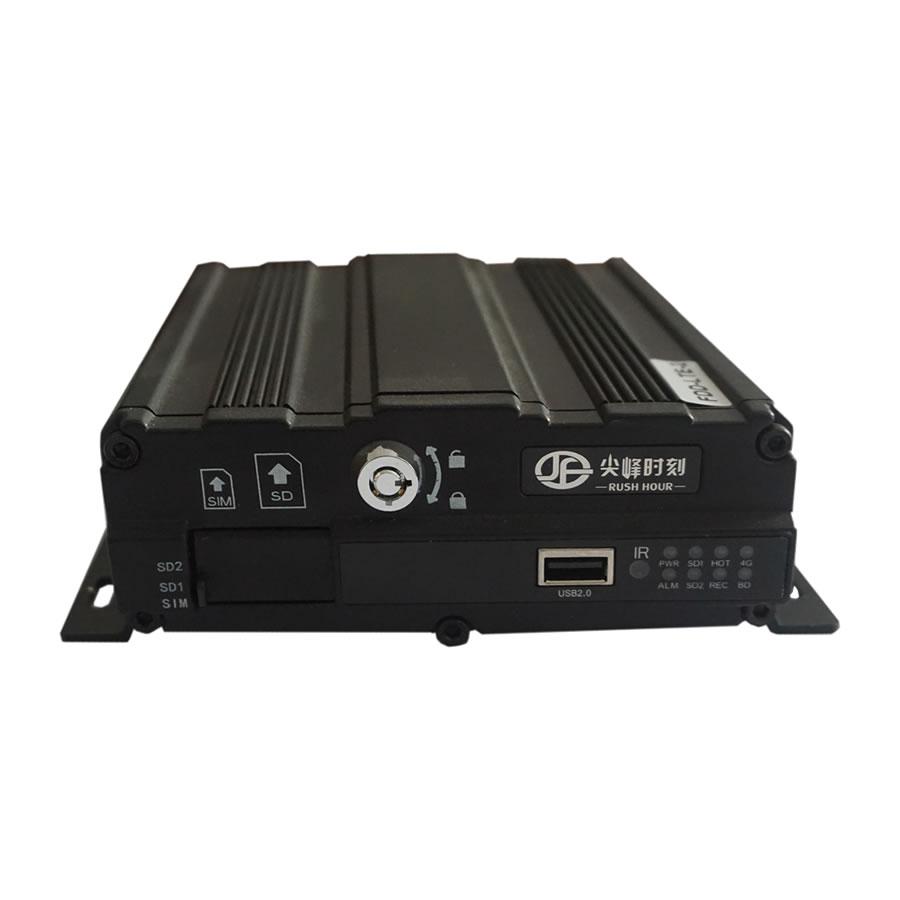 3G / 4G / WiFi conectar anti - vibracion CCTV car MDVR Blackbox jf-s500 - compresion H.264 de codificación ahd720p Digital Video