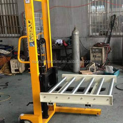 Manual roller stacker