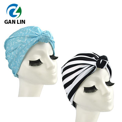 2020 new design lycra women turban style hair turban
