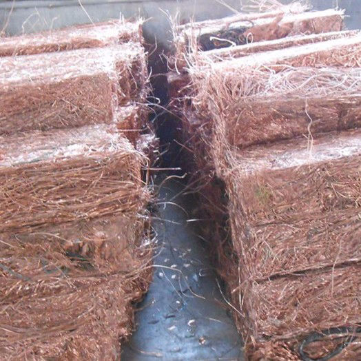 Non insulated copper wire scrap