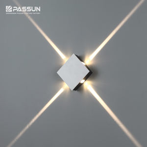 4W led wall light decorative light square for home decoration
