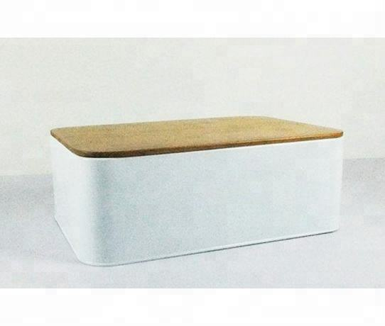 Nieuwe stijl brood <span class=keywords><strong>bin</strong></span>, <span class=keywords><strong>metalen</strong></span> poedercoating brood box