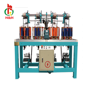 Henghui good quality high speed 16 spindle braiding machine for shoelace