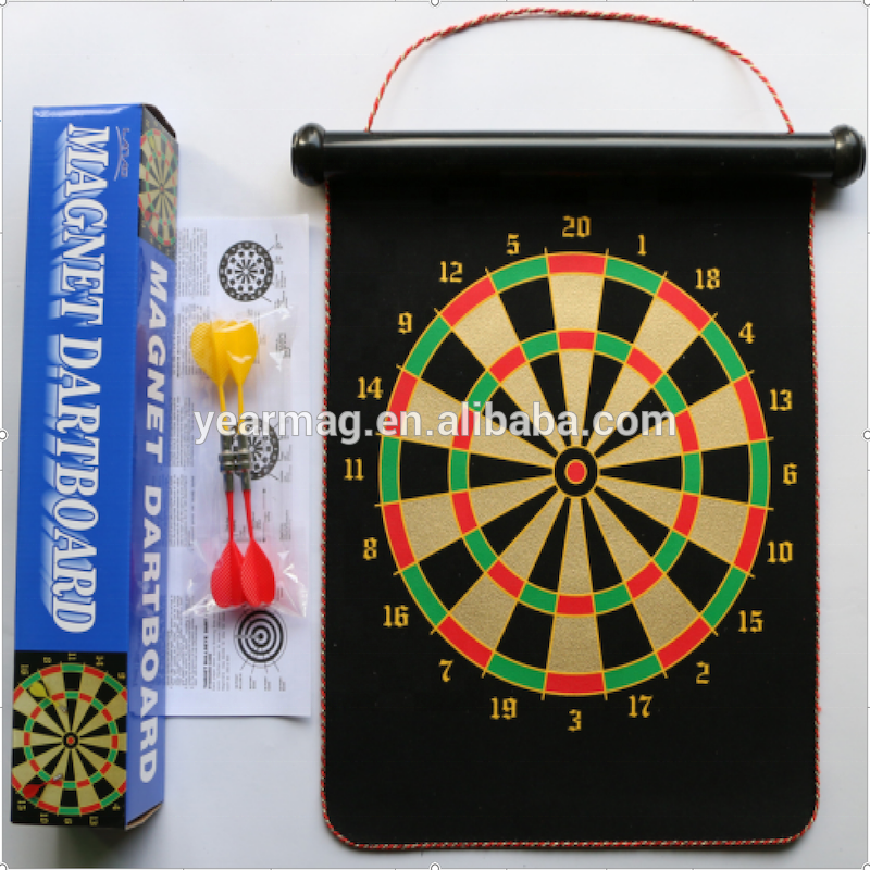 Kid Toy 9 Inch 12 Inch 15 Inch 17Inch 18 Inch 20 Inch Magnetic Dartboard with Magnetic Darts