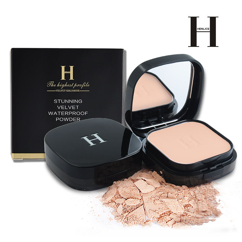 HENLICS More Smooth Lasting Mineral Waterproof Compact Makeup Powder
