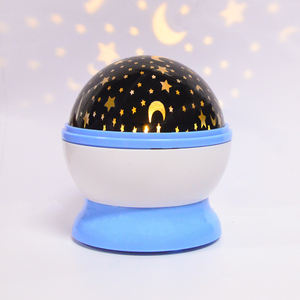 Indoor Lamps Bead 360 Degree Romantic Room Rotating Led Cosmos Star Projector Night Light for Decorating Party