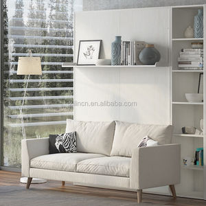 High quality multifunctional sofa wall bed, space saving wall bed sofa