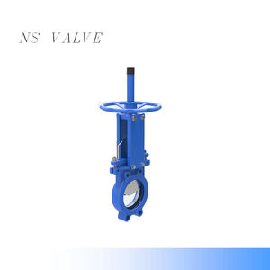 SS304 QB series Unidirectional seal Knife Gate Valve