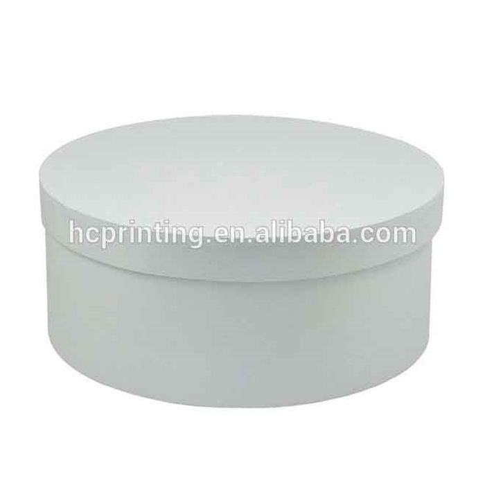 White hat boxes wholesale for Christmas promotion