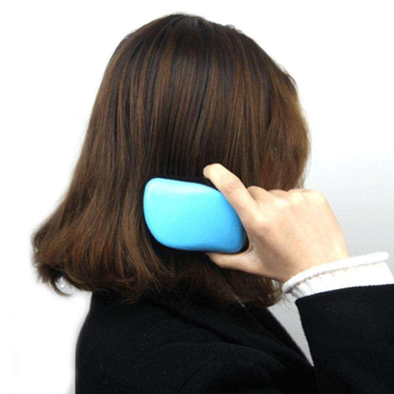 Hot Selling Top Quality Nylon Ball Teeth Paddle Hair Brush with Big Airbag