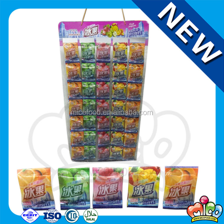Newest Mixed Mini Fruit Jelly Pieces Bag