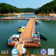Pontoon floating dock high bouyancy aluminum boat lifts for sale made in China with low price