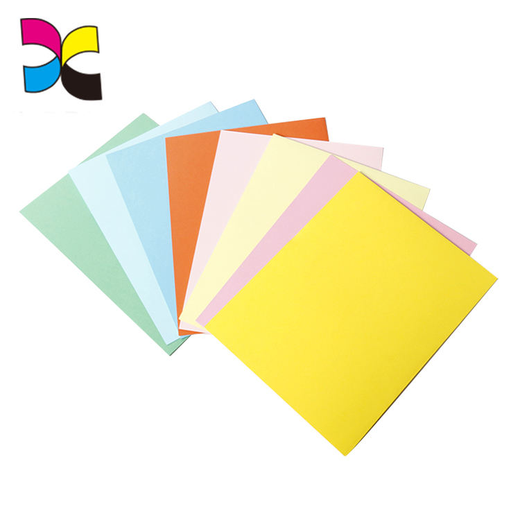 Office A4 document presentation folder handmade cardboard file paper folder