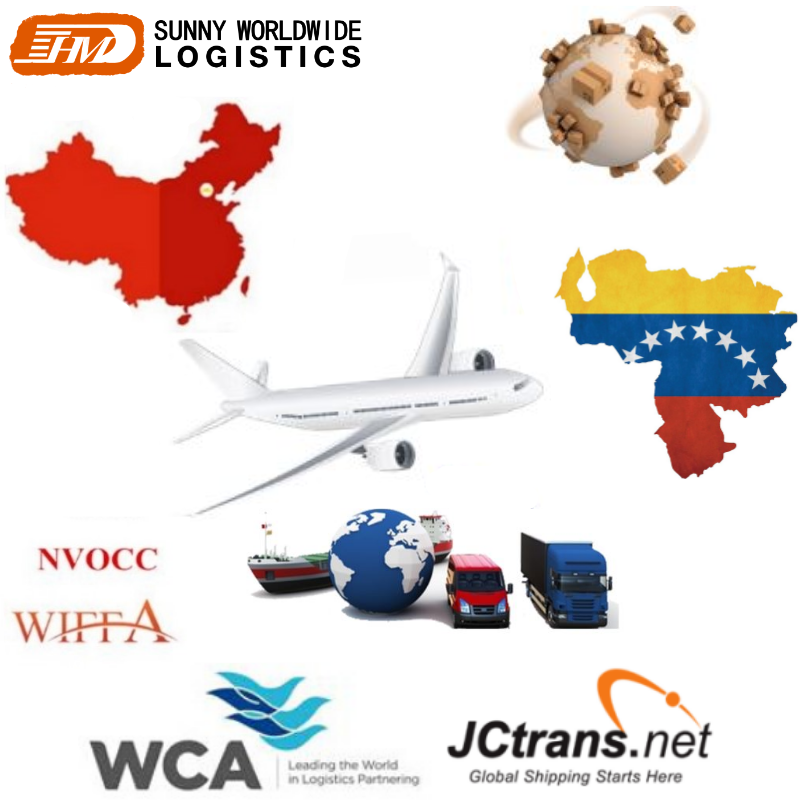 Professional Cheap And Reliable Cargo Transport Air Freight Forwarder By Air From China To Venezuela South America