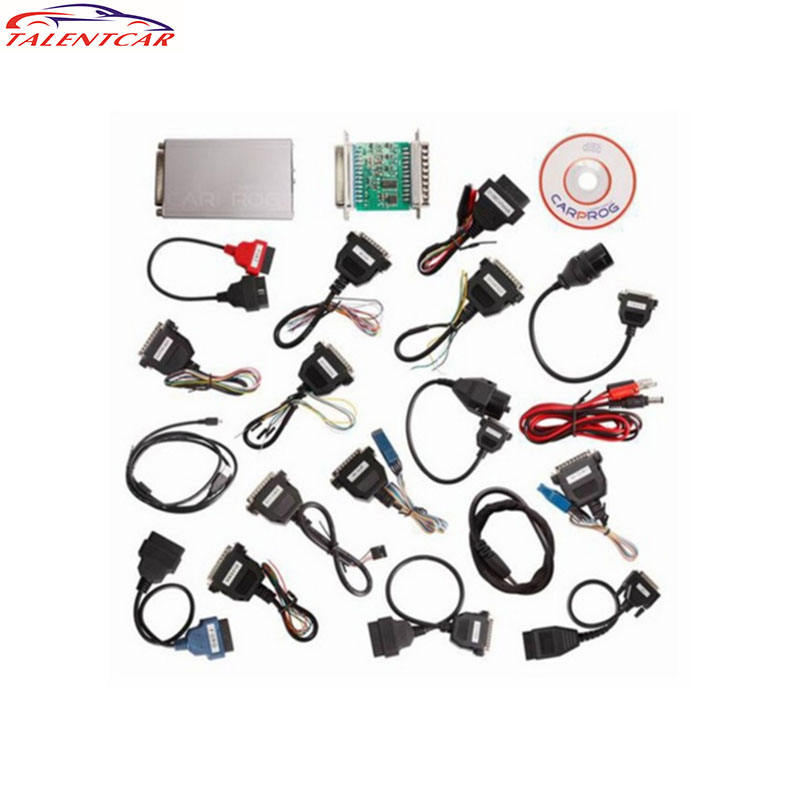 Best Price CARPROG FULL V7.28 with all Softwares Activated with 21 Adapters CAR PROG V7.28 ECU CHIP TUNING TOOL