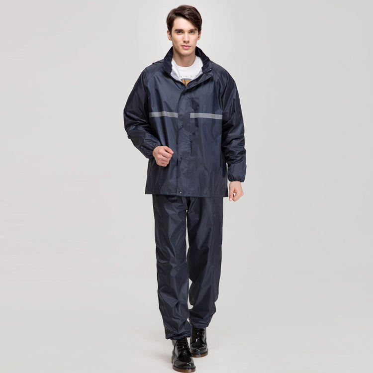 double layer OUTDOOR rain JACKET with pant