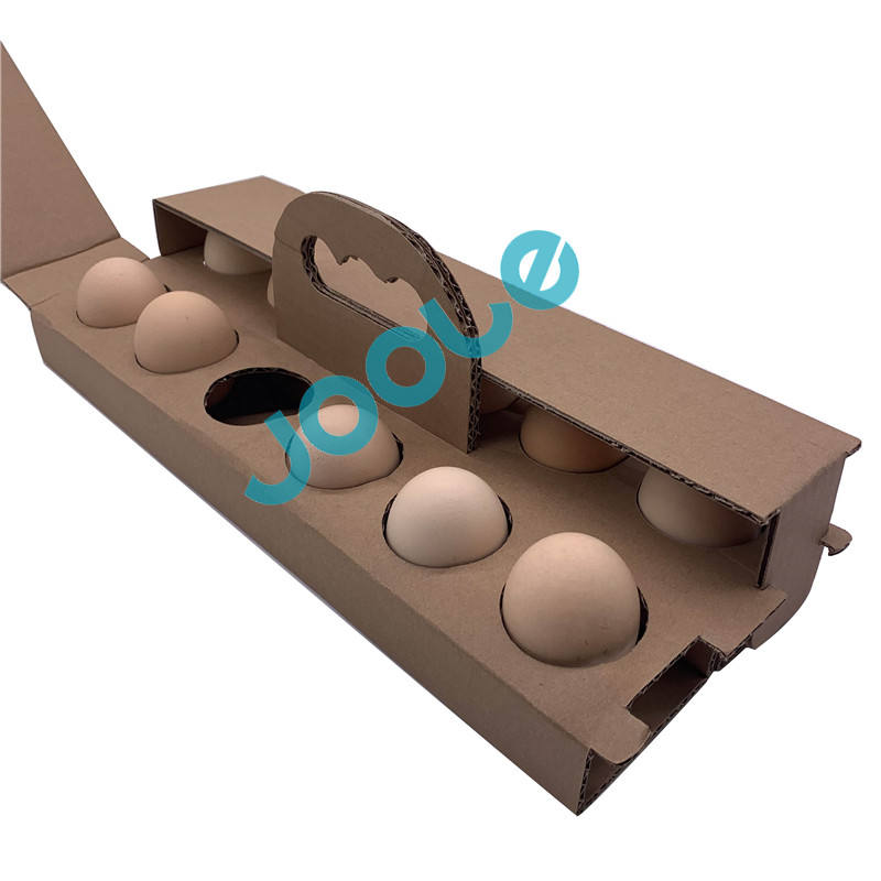 Eco-Friendly biodegradable pulp egg tray carton egg packing trays 12 Holes original color