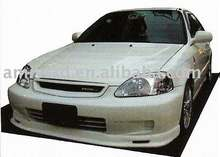 FRONT LIP FOR HONDA CIVIC 1999 2000 MG STYLE FRONT BUMPER LIP