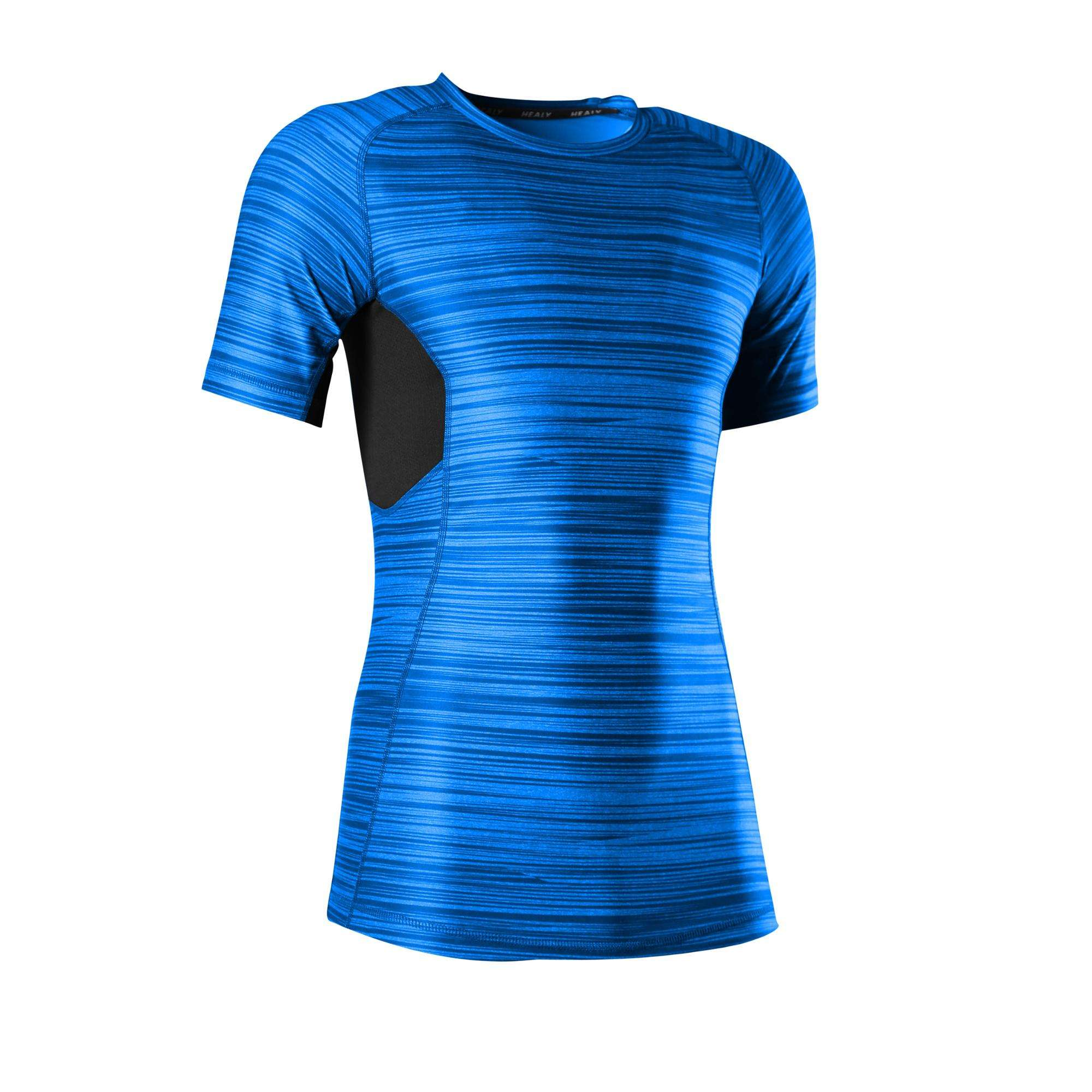 Men Matrix Compression top Quick Dry Tee Shirt Fitness Sports Clothes Man's Gym Shirt