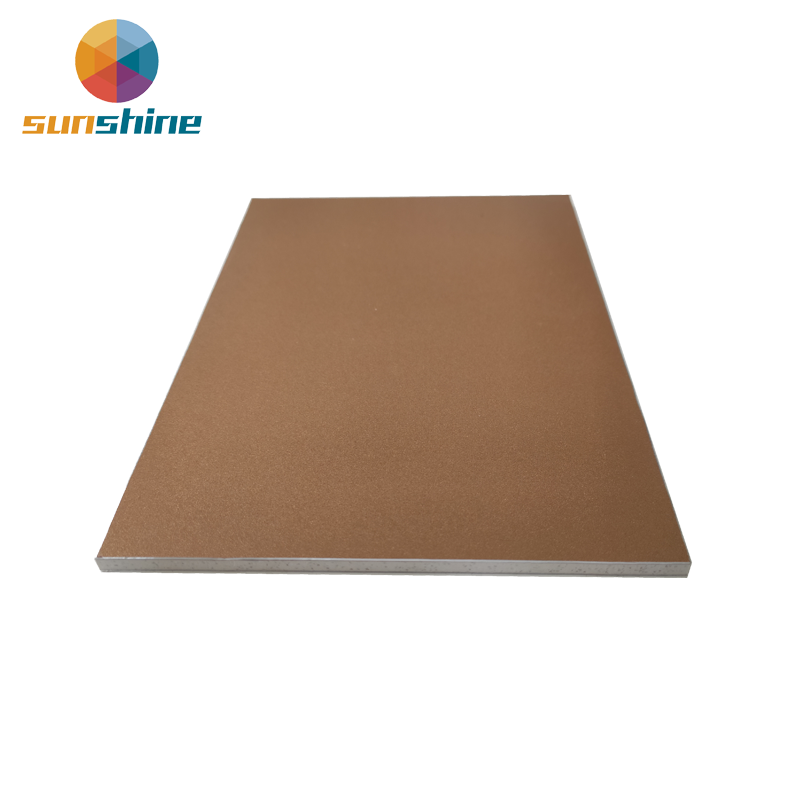 ALUSHINE a2 fireproof aluminum composite panel
