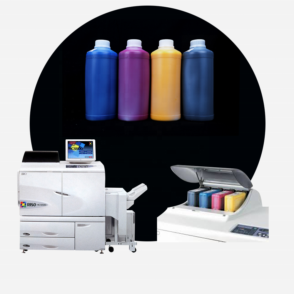High quality s4670/4671/4672/4673 ink for ComColors HC5500 printer,prints more, does not block the inkjet head, ink has no smell