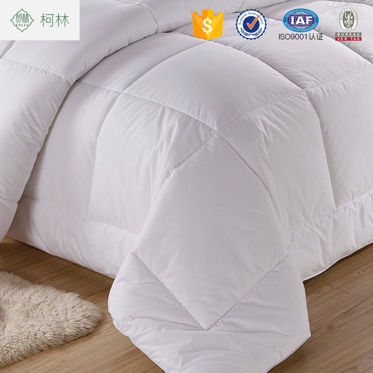 china supplier wholesale 100% cotton comfortable quilt for hotel