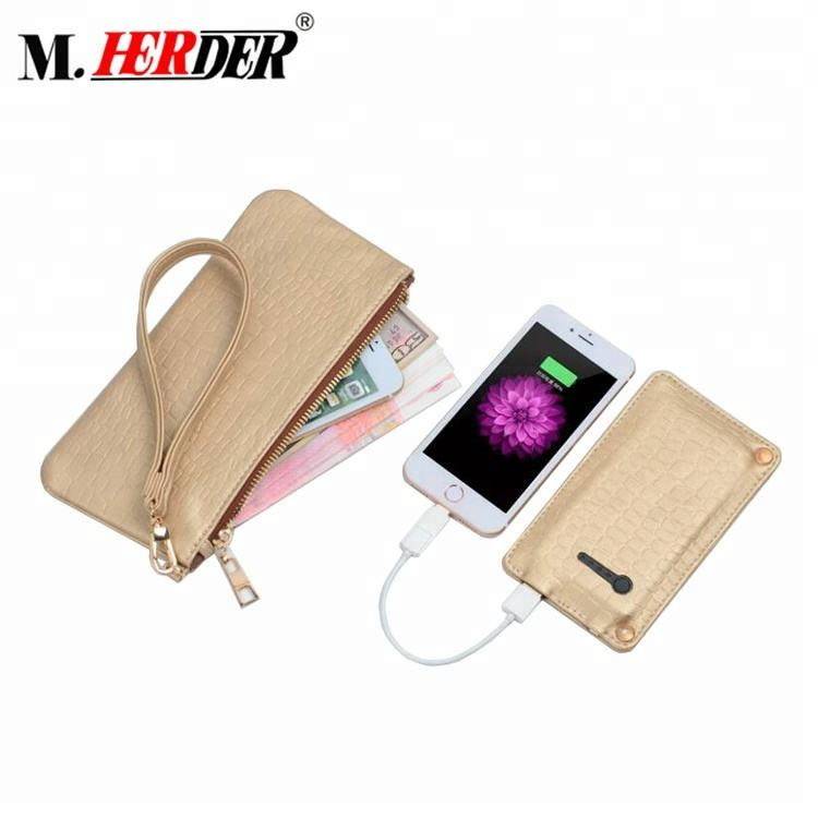 Cheap China factory direct sale low price new coming smart wallet gps power bank card holder travel