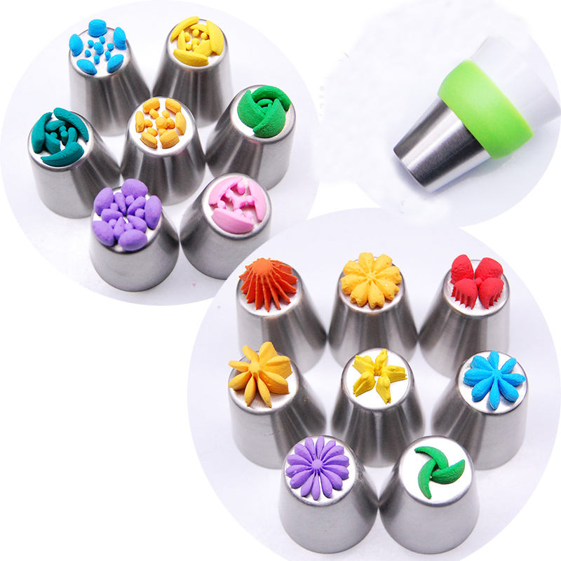 Russian Piping Tips Decorating Tips Flower Nozzle Pastry