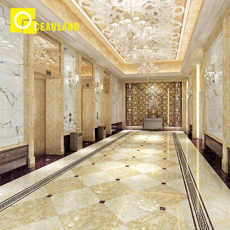 full polished glazed tiles marble tile