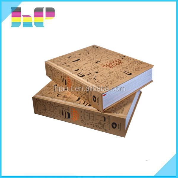 Servicio de impresión de libro de tapa dura en china personalizada impresión de libros de colores