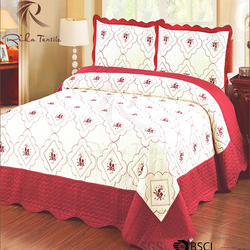 Customize available super warm bedding quilt for queen size