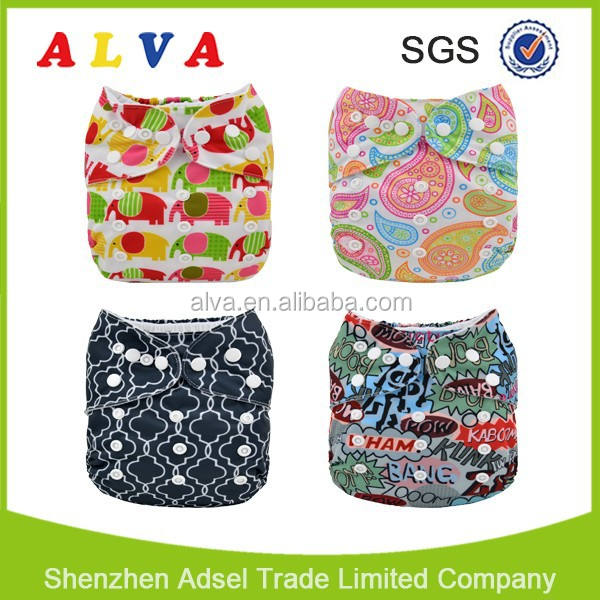 Alva Free Shipping Diapers Competitive Cloth Diaper Prices Baby Diapers