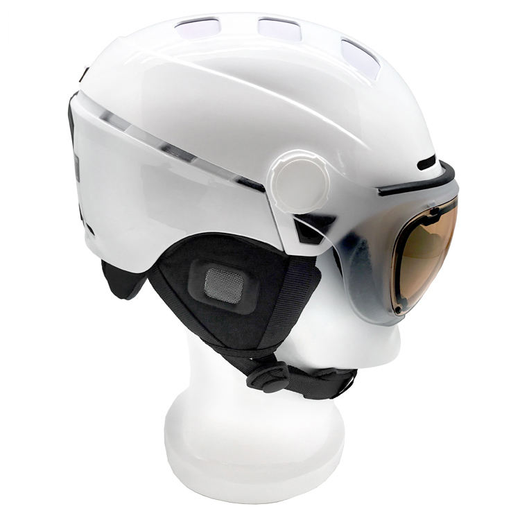 Highly commended white best ski helmet goggle combo