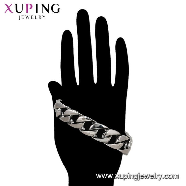 75945 XUPING New men bracelet stainless steel, fashion bracelet