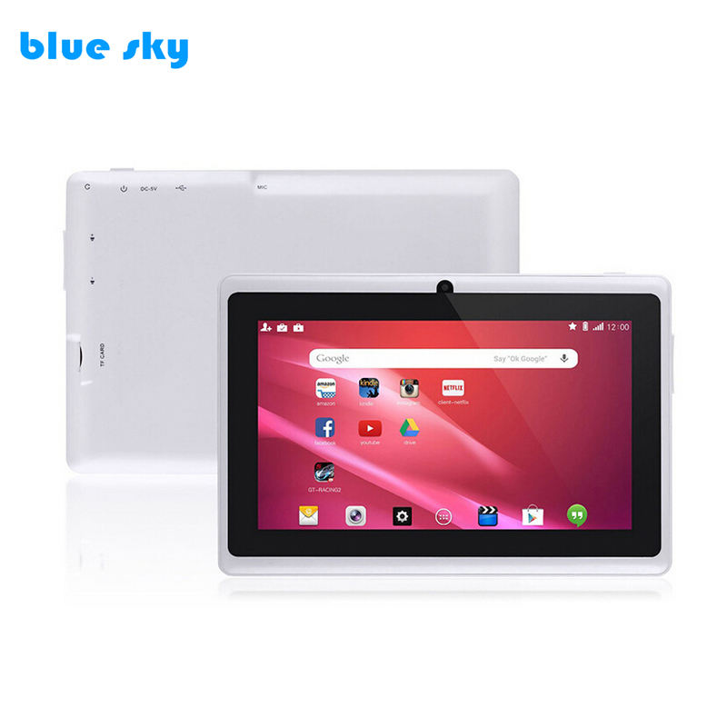 Kostenlose Probe Tablet PC ATM7051 1,3 GHZ Quad Core 512 MB Günstige China Android 4.4 Tablet