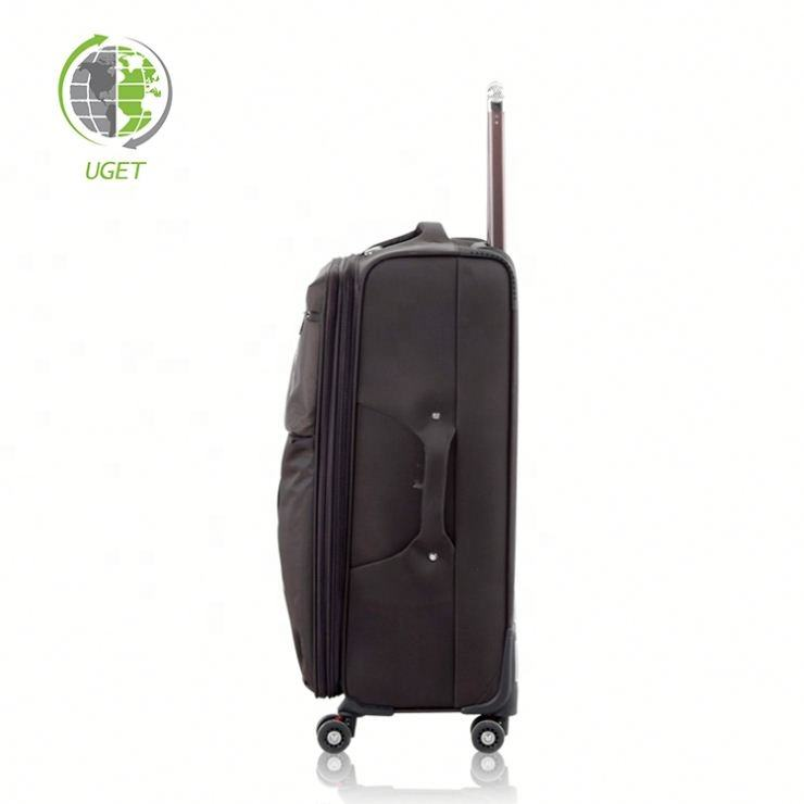 Free Sample Hitrip Bag Case Luggage Trolley Aluminum Travel Suitcase