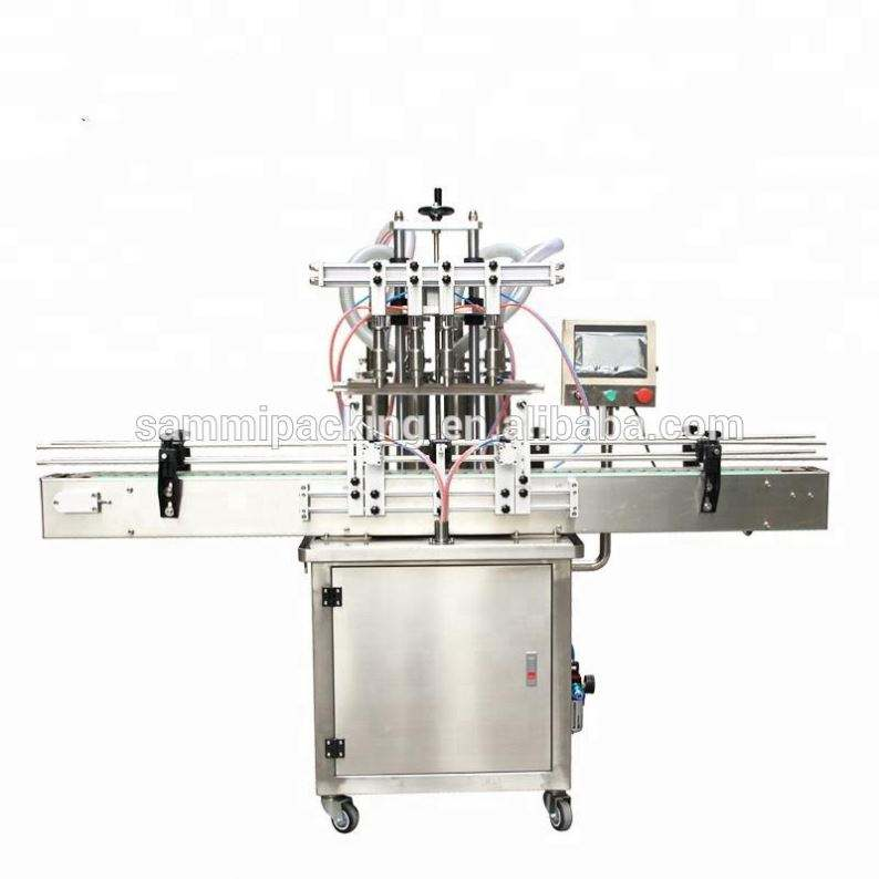 High quality Full automatic bottle filling machine for liquid water oil