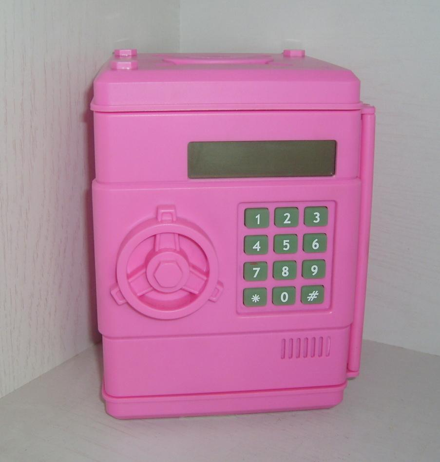 OEM / ODM digital coin bank money counting safe