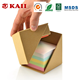 KAII Echo-life Memo Holder/Sticky Notes/Page Marker Colored Index Tabs Flags Kraft Cube Holder Box Desk Organizer