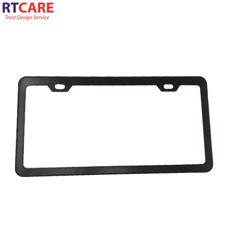 OEM Customized Us Size Auto Car Metal Blank Security License Plate Frame Holders